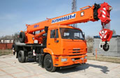 аренда автокрана 16 тонн (Киев)