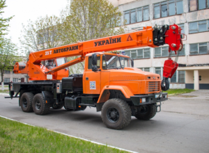 Аренда автокрана 25 тонн, стрела 22 м — «Галичанин» КС-55713 - №2
