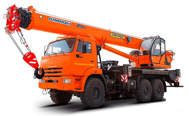 Аренда автокрана 16 тонн, стрела 18 м — «КАМАЗ»